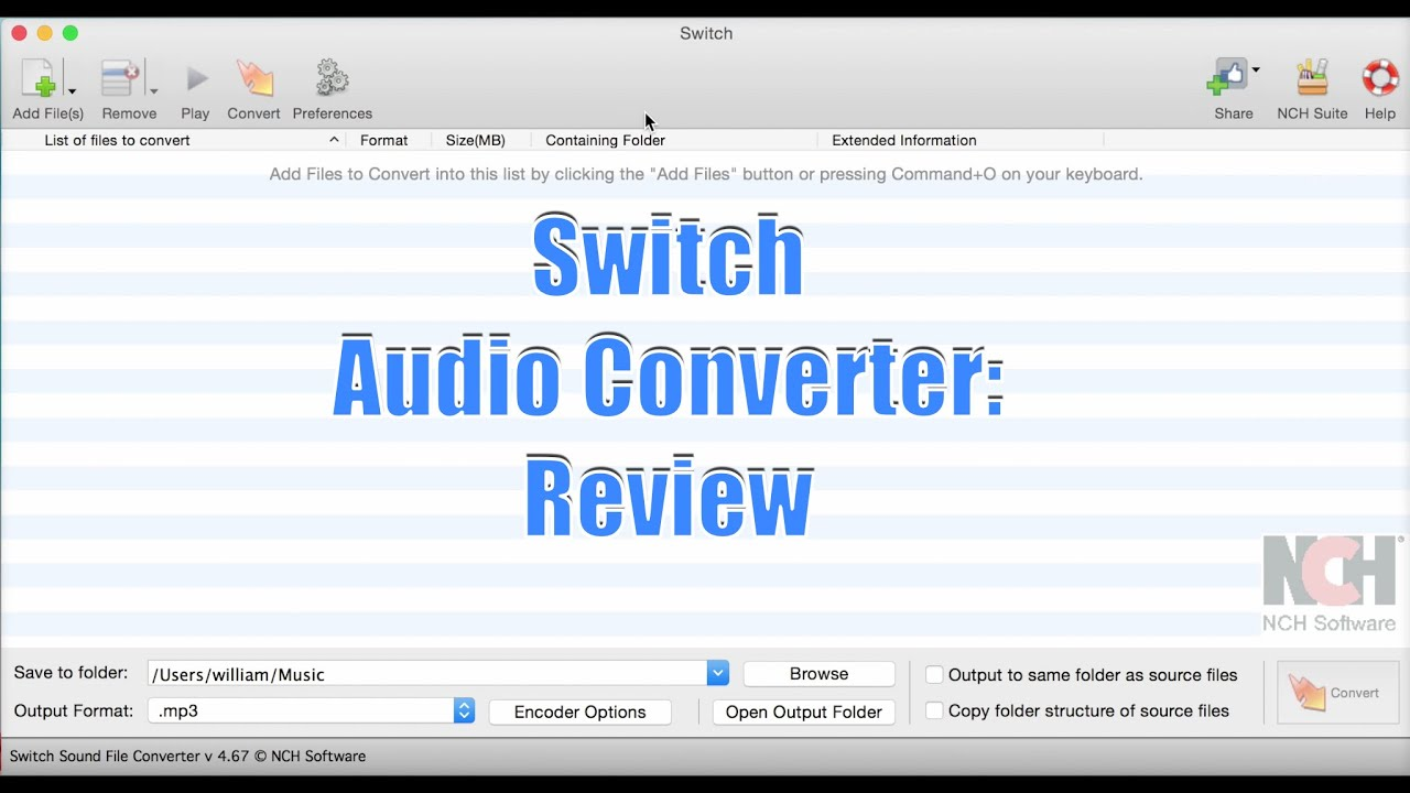 switch audio converter review