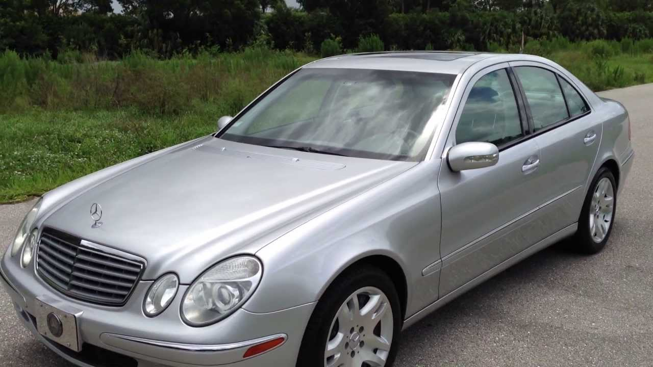 2003 mercedes benz e500 view our current inventory at for Mercedes benz e500 2003