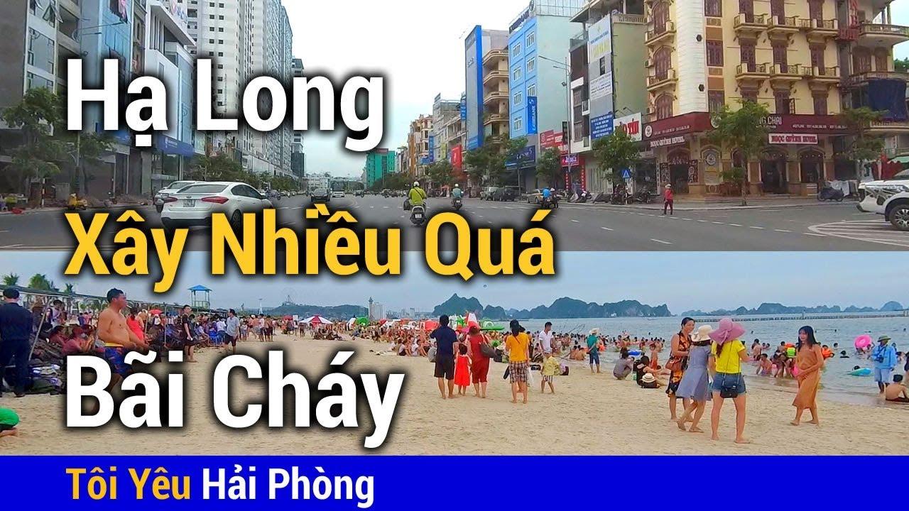 Xây dựng quá nhiều   Từ Hạ Long tới biển Bãi Cháy ở Quảng Ninh năm 2019