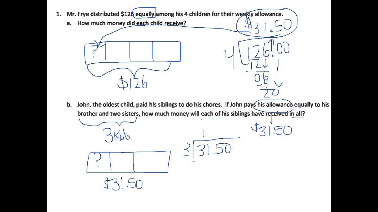 Grade 5 module 1 lesson 16 problem set youtube fandeluxe Images