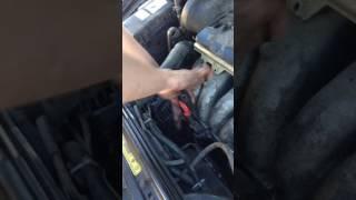 Как снять генератор на вольво S60