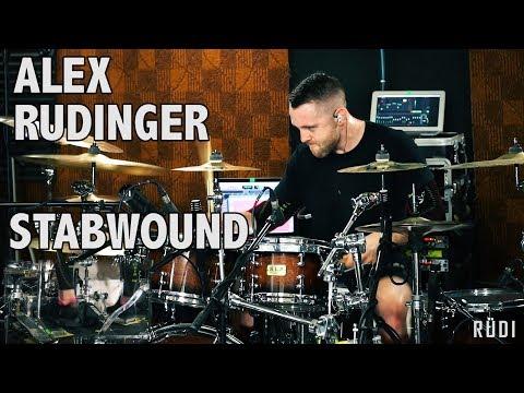 "Alex Rudinger - Necrophagist - ""Stabwound"" (Featuring Mario, Erick, & Esiah of CHON)"