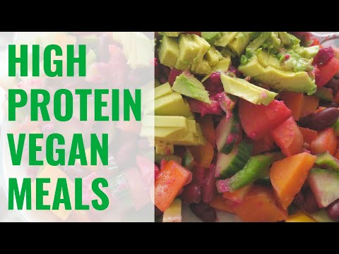 3 Easy Vegan Recipes For Building Muscle | Full Day Of Eating