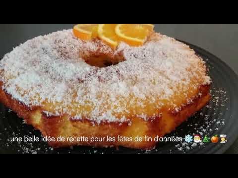gâteau-moelleux-à-l'orange-🍊-recette-facile-de-noël