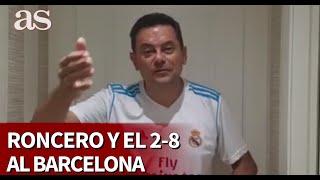 Barcelona 2 - Bayern 8 | El mensaje feliz de Roncero para el Barça y Messi | Diario AS