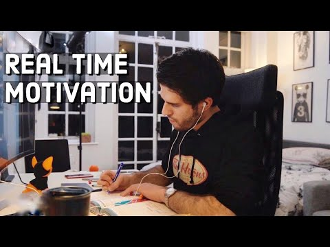 REAL TIME Study With Me (no Music): 7 HOUR Productive Pomodoro Session | KharmaMedic