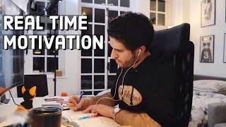 Baixar REAL TIME study with me (no music): 7 HOUR Productive Pomodoro Session | KharmaMedic