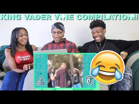 Couple Reacts : KingVader Vine Compilation Reaction!!!