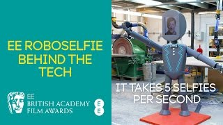 EE BAFTAs 2017: EE Roboselfie - Behind the Tech