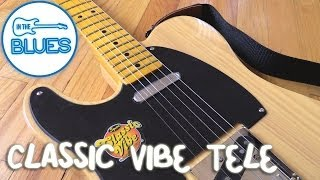 Squier Classic Vibe 50s Telecaster Play Test