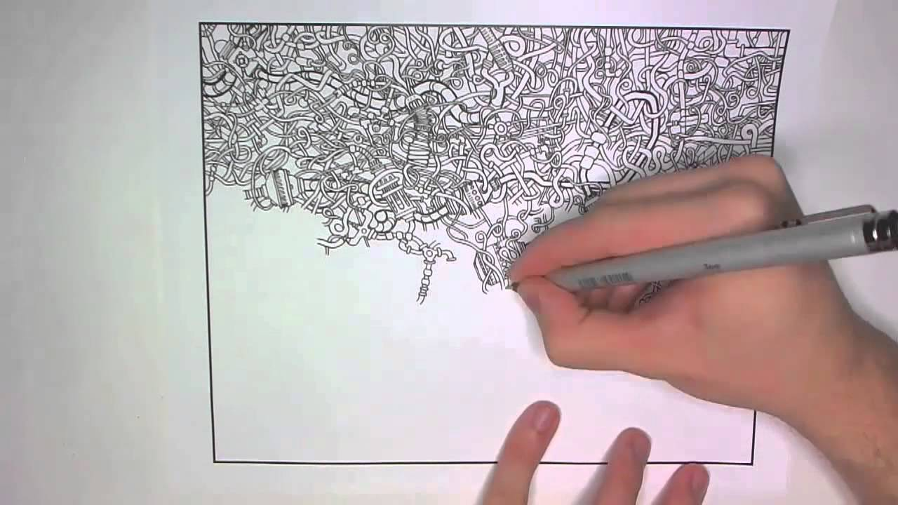 Drawing a Series of Tubes For the Coloring Book YouTube