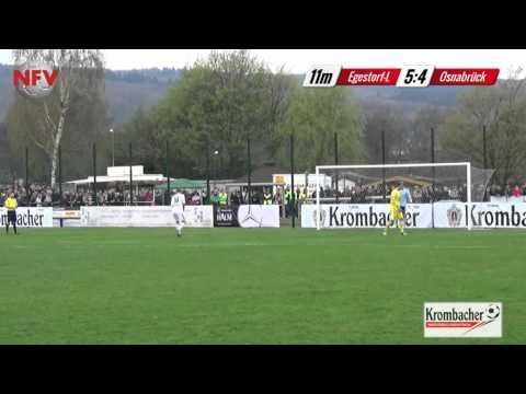 1.FC Germania Egestorf-Langreder vs. VfL Osnabrück: Elfmeterschießen