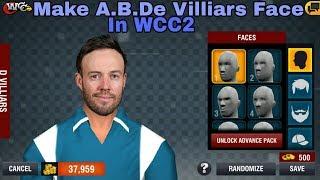 Wie man A.B.De Villiars auf Wcc2