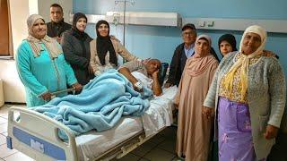 عائلة لالة حادة في زيارة لأحد أقاربها بمصحة في مدينة فاس