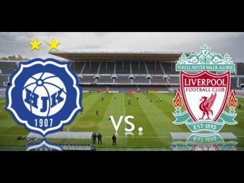 HJK Helsinki vs Liverpool - Match Highlights 2015