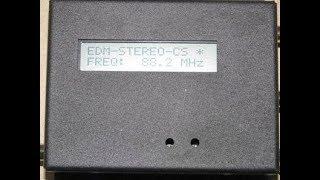 FM Transmitter for Christmas Light Display - Part 4 - EDM LCD-CS EP Transmitter Review
