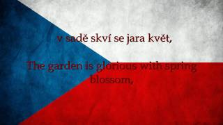 Czech Republic National Anthem English lyrics