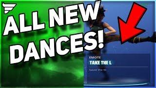 Toutes les nouvelles danses Fortnite et railleries (Battle Pass 3)