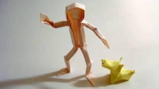 Origami Man (claudio Acuña J.)