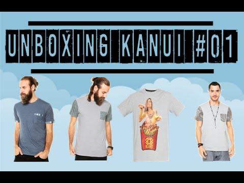 29c8217e0d Unboxing 4 Camiseta KANUI - 4 CAMISETAS R  99