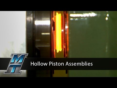 Inertia Friction Welder for Hollow Piston Assemblies - Model 90B