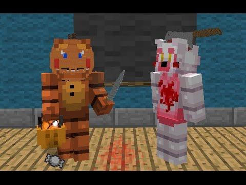 FNAF Monster School: Halloween Costumes! - Minecraft Animation