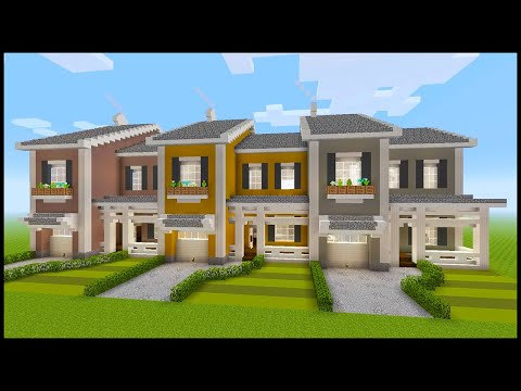 Minecraft: How To Build A Townhouse | PART 1