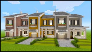 Minecraft: How to Build a Townhouse PART 1 YouTube