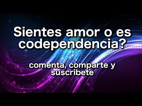 Sientes amor o es codependencia?