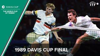 Boris Becker vs Mats Wilander | 1989 Davis Cup Final
