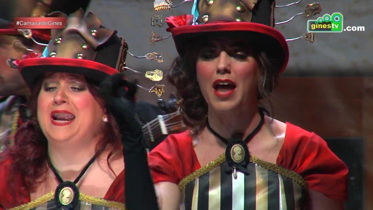 Una voz de madera. Carnaval de Gines 2017 (Segunda semifinal)