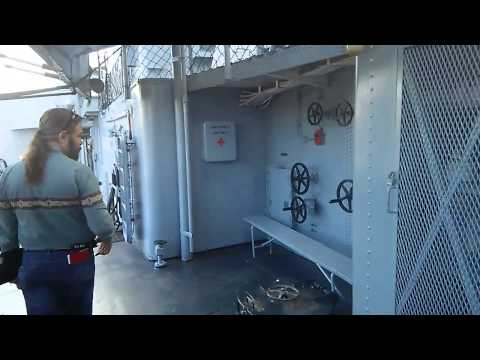 A short tour of the USS Kidd in Baton Rouge, LA