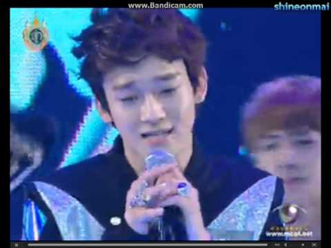 "EXO Chen's perfect high note LIVE ""What is Love"""