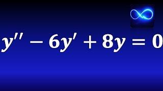 86. Ecuación diferencial de coeficientes constantes (segundo orden, homogénea) EJERCICIO RESUELTO thumbnail