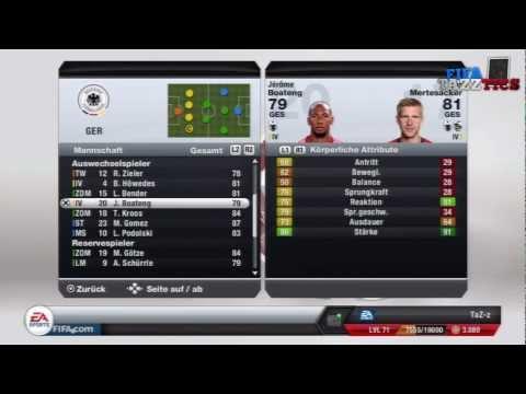 FIFA 13 | Online Gameplay | Ranglistenspiel: Deutschland - Paris St. Germain | FIFAtazztics