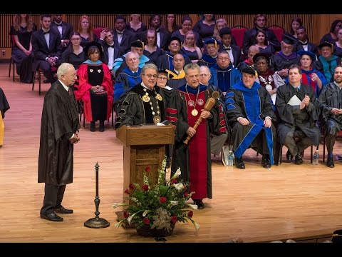 The Inauguration of Frostburg State University