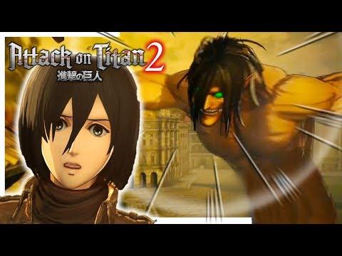 EREN VS MiKASA ??? 😍   Attack On Titan 2 #4