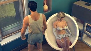 Joe's Sexy Girl in a Bath. Barbaro's Bordello: You Got the Money - We Got the Honeys (Mafia 2)
