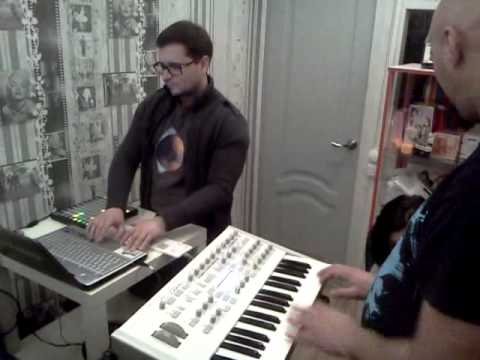 Midimode & Unlockedoor at studio