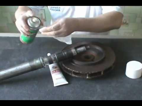 СК660-Как вклеить крыльчатку на вал водяного насоса
