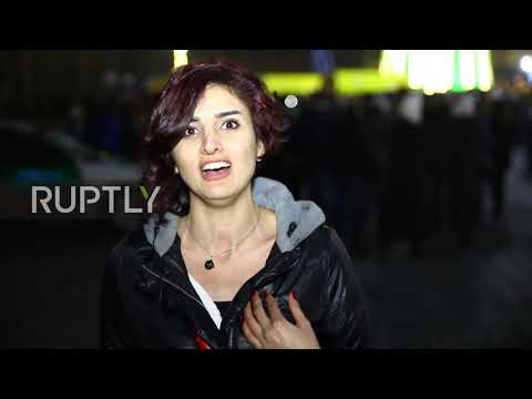 Syria: Damascus lights up its biggest Christmas tree as festivities are in full swing