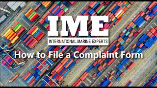 How To Make Complaint With IME