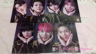 [UNBOXING] 2019 MONSTA X WORLD TOUR WE ARE HERE IN SEOUL KIT…