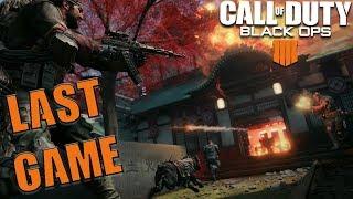 Last Game On Black Ops 4 Beta Xbox Gameplay BO4