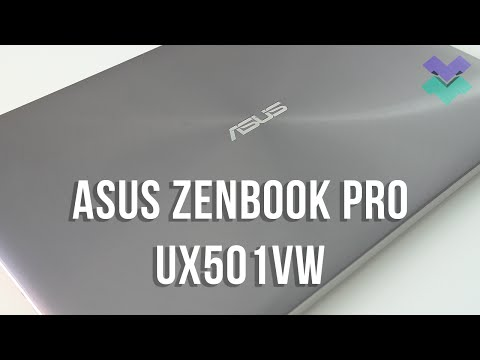 2016 ASUS ZenBook Pro UX501 Review - A Powerful Premium Laptop For A Good Price!