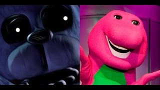 Bonnie The Bunny vs Barney The Dinosaur. Epic Rap Battles of History