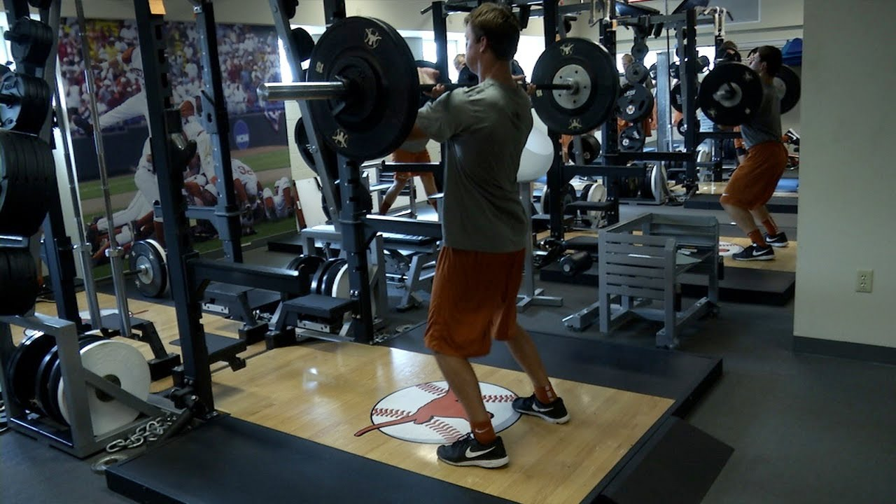 Texas Baseball Offseason Performance Program Nov 19 2013