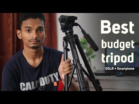 Best budget tripod For DSLR and Smartphone | Yunteng 691 tripod Full review (বাংলা)