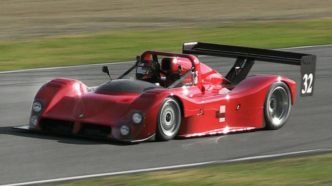 Ferrari 333 Sp V12 Sound Accelerations Fly Bys Flames