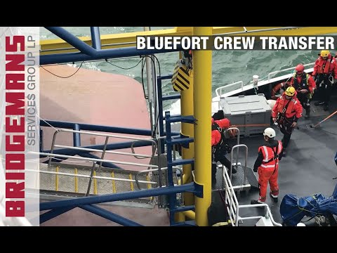 Bridgemans MV Bluefort Crew Transfer